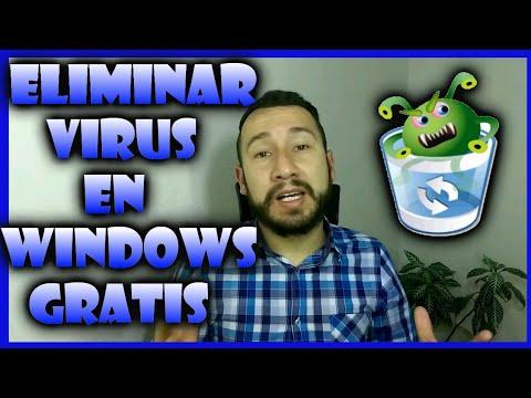 ELIMINAR VIRUS  iGRATIS!  En WINDOWS  2019…