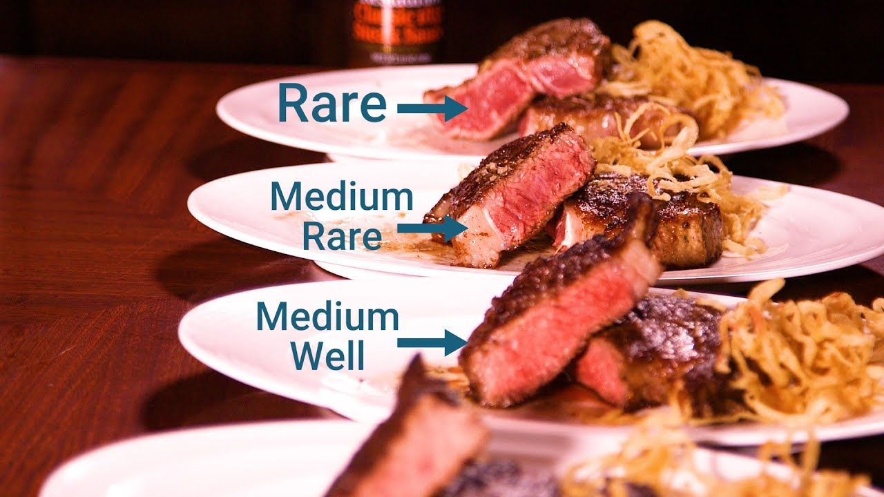 How To Cook The Perfect Steak For Every Temperature Youtube