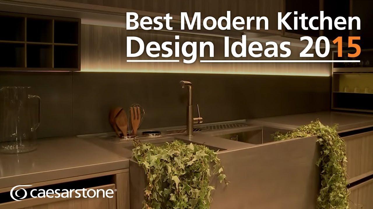 Best modern kitchen design ideas 2015 youtube for Best kitchen designs 2015