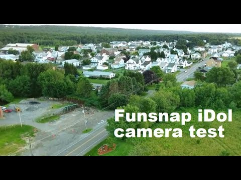 Funsnap IDol  Camera & APP Test Review GPS Drone