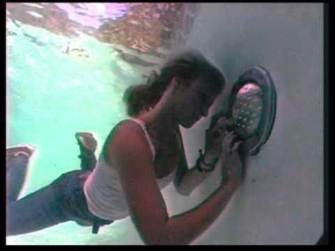 Pool repair underwater