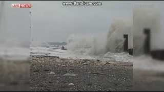 Паромное сообщение с Крымом прервано из-за ураганного ветра(, 2014-06-21T14:38:04.000Z)