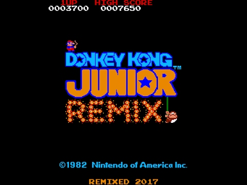 Donkey Kong Junior Remix