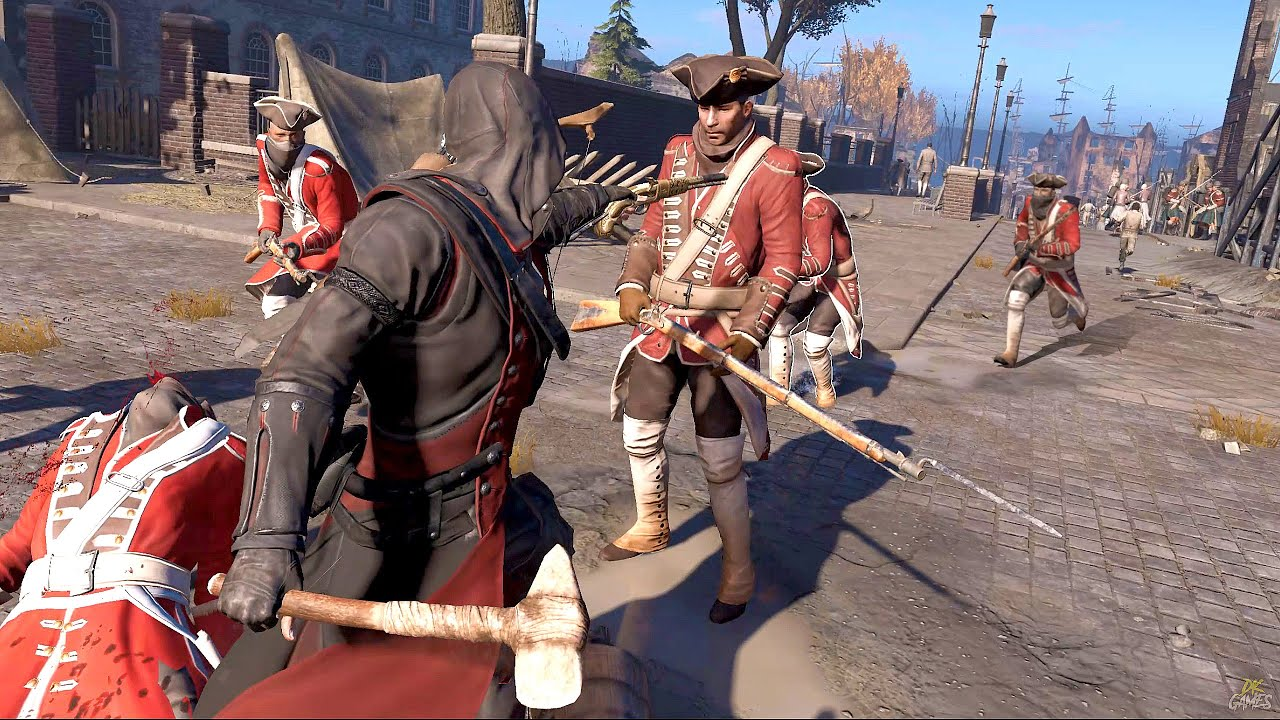 Download Assassin's Creed 3 Remastered - Vicious Assassin Stealth Kills, Rampage & Templar Fort Clearing