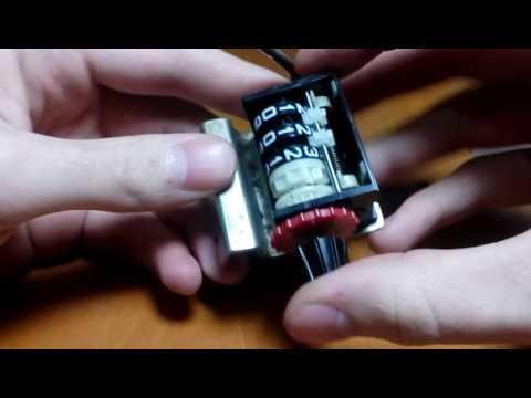 Ремонт счетчика вязальной машины Dopleta (Доплета)