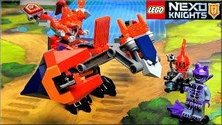 лего Нексо Найтс 70361 Дракон Мэйси Обзор LEGO Nexo Knights Macy's Bot Drop Dragon