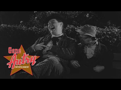 Smiley Burnette - HURRAY (from Rovin' Tumbleweeds 1939)