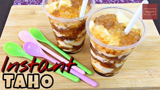 Instant Taho l Soybean Pudding l Homemade easy to make l KitcheNet Ph