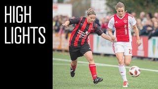 Highlights Ajax Vrouwen - Excelsior Barendrecht