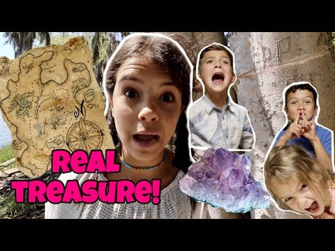 WE FOUND A REAL PIRATE TREASURE MAP!  Caribbean Island treasure hunt!