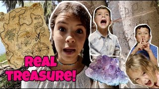 SEARCH FOR PIRATE TREASURE MAP!  THOUSAND MILE TREASURE HUNT!