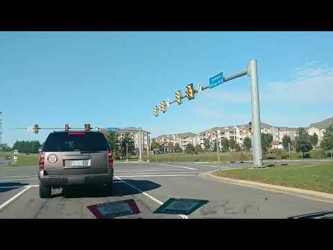 Ashburn Virginia Driving