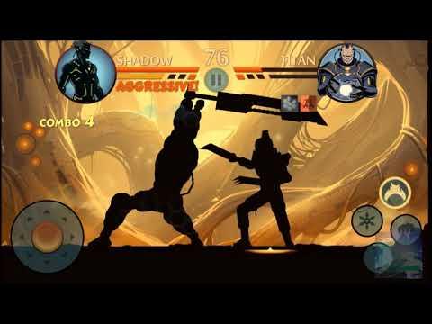 Shadow Fight 2   Act 7: Chapter 3   Final Boss: Titan.