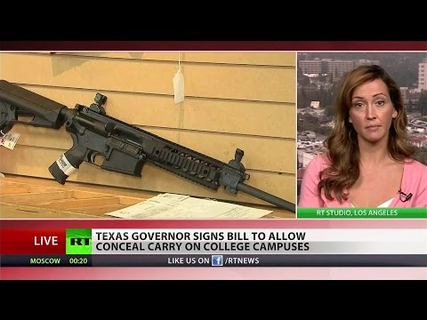 Wild West: Texas passes gun laws legalizing campus carry, open carry
