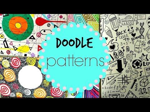 Doodle Pattern Art Journal
