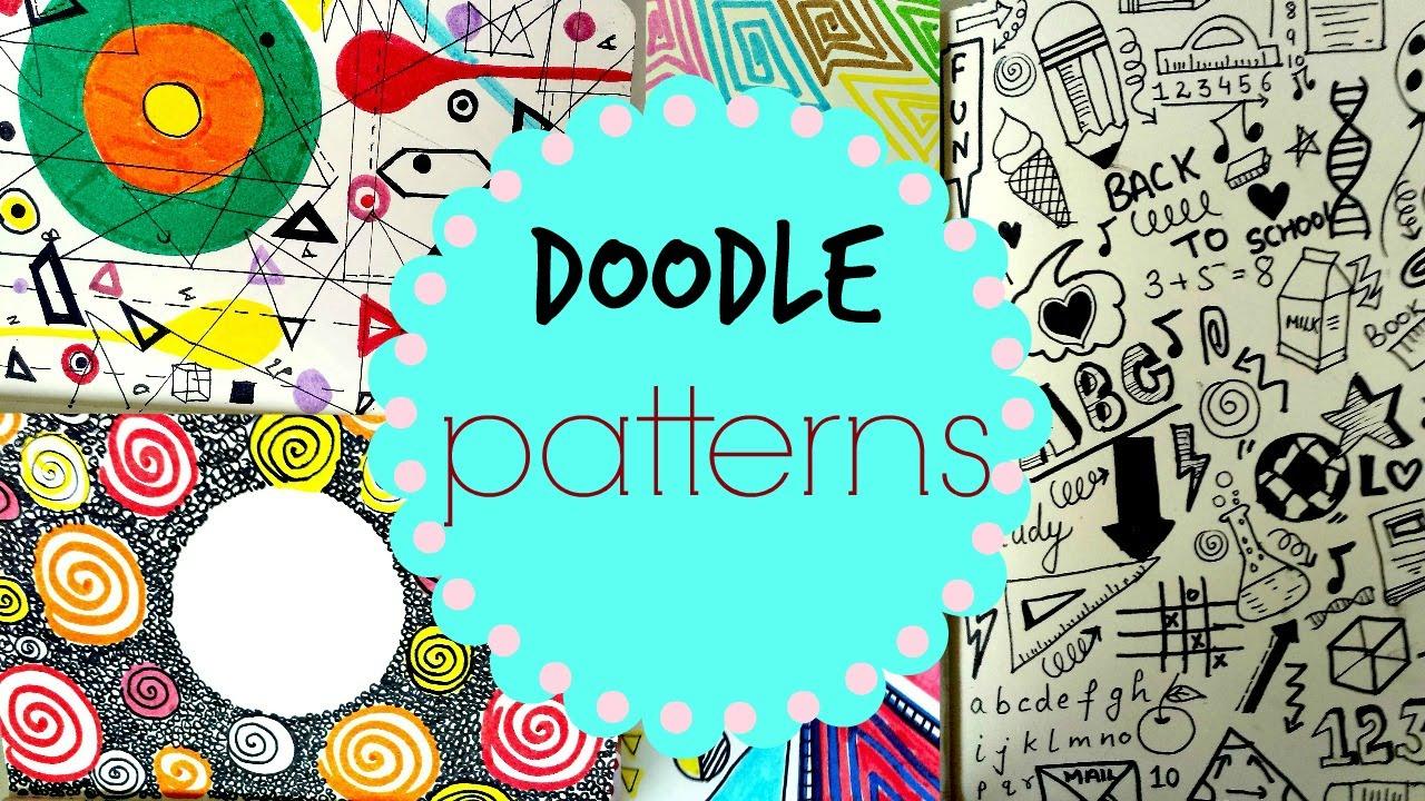 Doodle Pattern Art Journal - YouTube