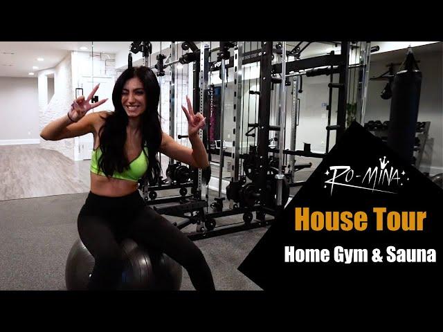 RO-MiNA - House Tour - Home Gym & Sauna