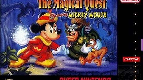 The Magical Quest Starring Mickey Mouse (SNES) Longplay [79]