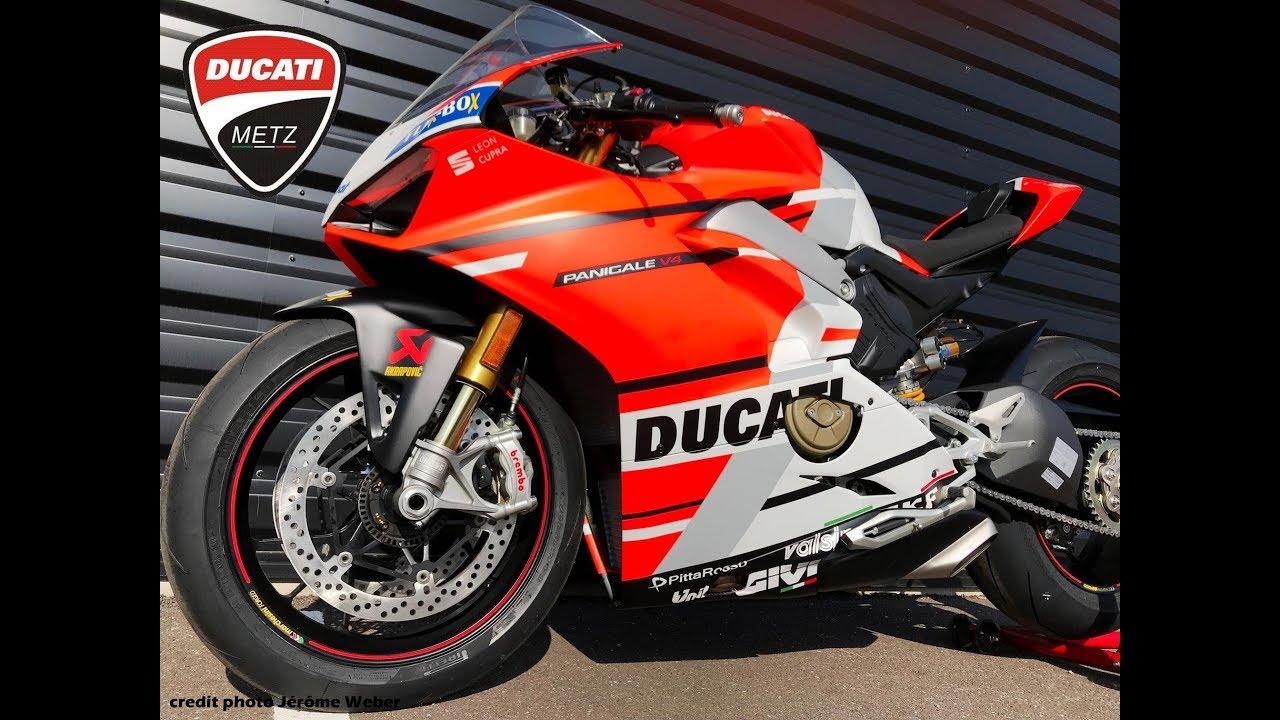 Ducati Panigale V4 Moto GP 18 - YouTube