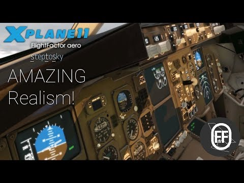 XP11 Amzing Realism! NEW Flight Factor 767 Pro Extended! - YouTube