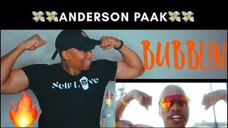 Anderson .Paak - Bubblin (Official Video) REACTION!!!