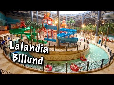 LALANDIA, AQUADOM, DENMARK. Aquapark in Billund