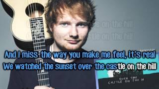 Ed Sheeran Castle On The Hill Karaoke Instrumental