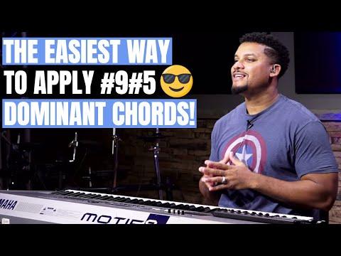 Gospel Piano Tutorial - #9#5 Dominant Chords
