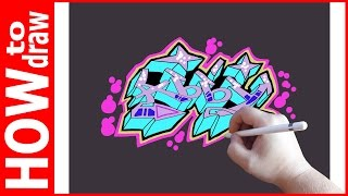 Download Video How to draw graffiti name Abby MP3 3GP MP4