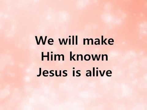 Alive, Kim Walker. A Lyric Video