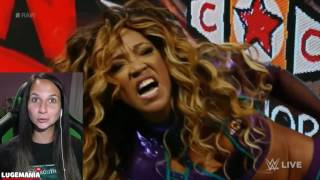 WWE Raw 9/12/16 Nia Jaxx vs Alicia Fox