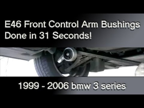 How To Replace Bmw E46 3 Series Front Control Arm Bushings