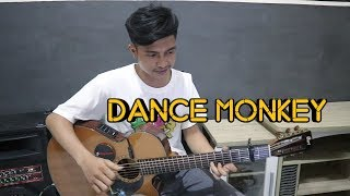 Dance Monkey - Tones and I   Fingerstyle Guitar Cover + Lyrics