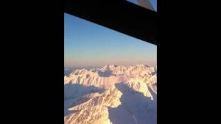 Flying Over Alyeska - 12/12/10