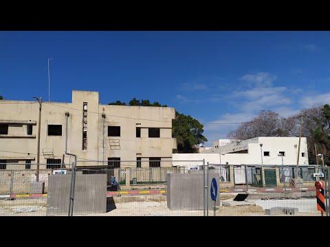 Заброшенная бывшая психбольница в Бат яме | abandoned former psycho hospital in Bat yam