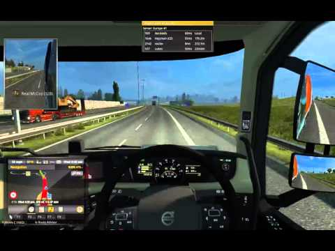 Euro Truck Simulator 2 Multiplayer ETS2MP Paris to Hannover
