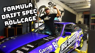 homepage tile video photo for INSTALLING A FD SPEC ROLLCAGE IN MY 2JZ E36 DRIFTCAR 2023 PROSPEC READY!