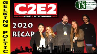 C2E2 CHICAGO 2020 RECAP! Toys, Comics, Trek and more!