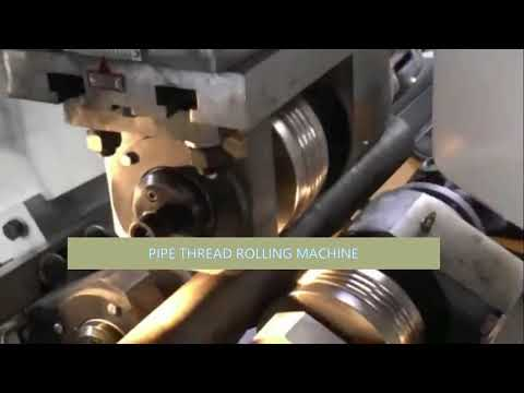 Steel Pipe Thread Rolling Machine Made In China