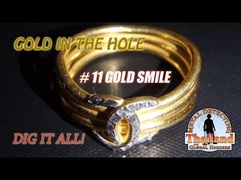 Metal Detecting Thailand with Stefan Burford. Season 1 Episode 11 - Gold smile.