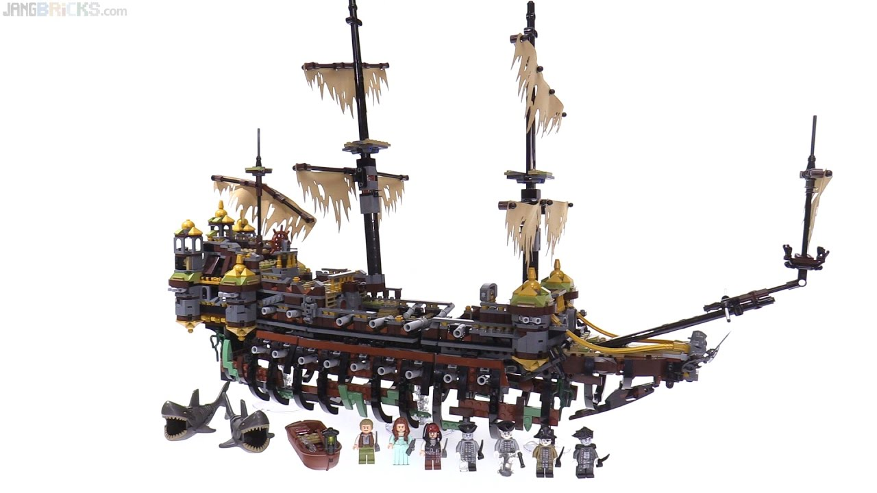 Lego Pirates Of The Caribbean Silent Mary Review Dead Men Tell No