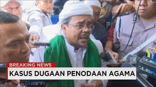 Breaking News - Habib Rizieq Tiba di Bareskrim