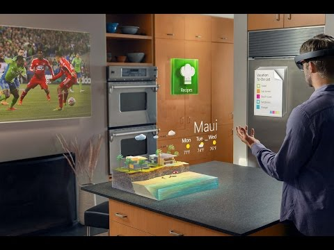 Microsoft HoloLens | Transform your world with holograms.