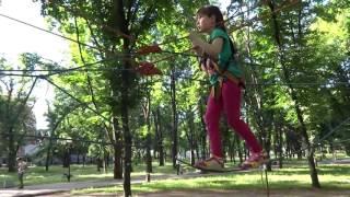 Веревочный парк Экстрим для детей Rope Park Extreme for kids