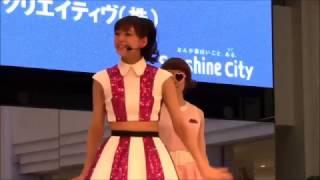 原駅ステージA ☆学校帰りに西内まりや先輩のリリイベを観に行ったらいき...