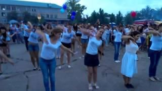 Флешмоб. село Большая Глушица. День молодежи. 30.06.2012