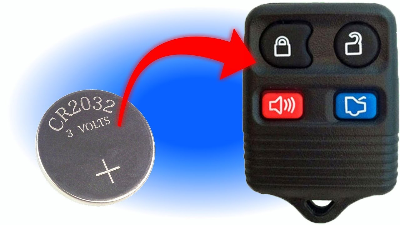 How To Replace A Ford Lincoln Mercury Remote Battery Key Fob