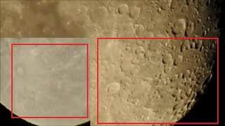 Are You Sure That The Moon Has Craters ??? Real Footage of The Moon by NaTuber Tv
