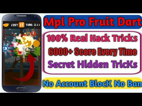 Mpl Fruit Dart Game 4000 Score Trick Video Download