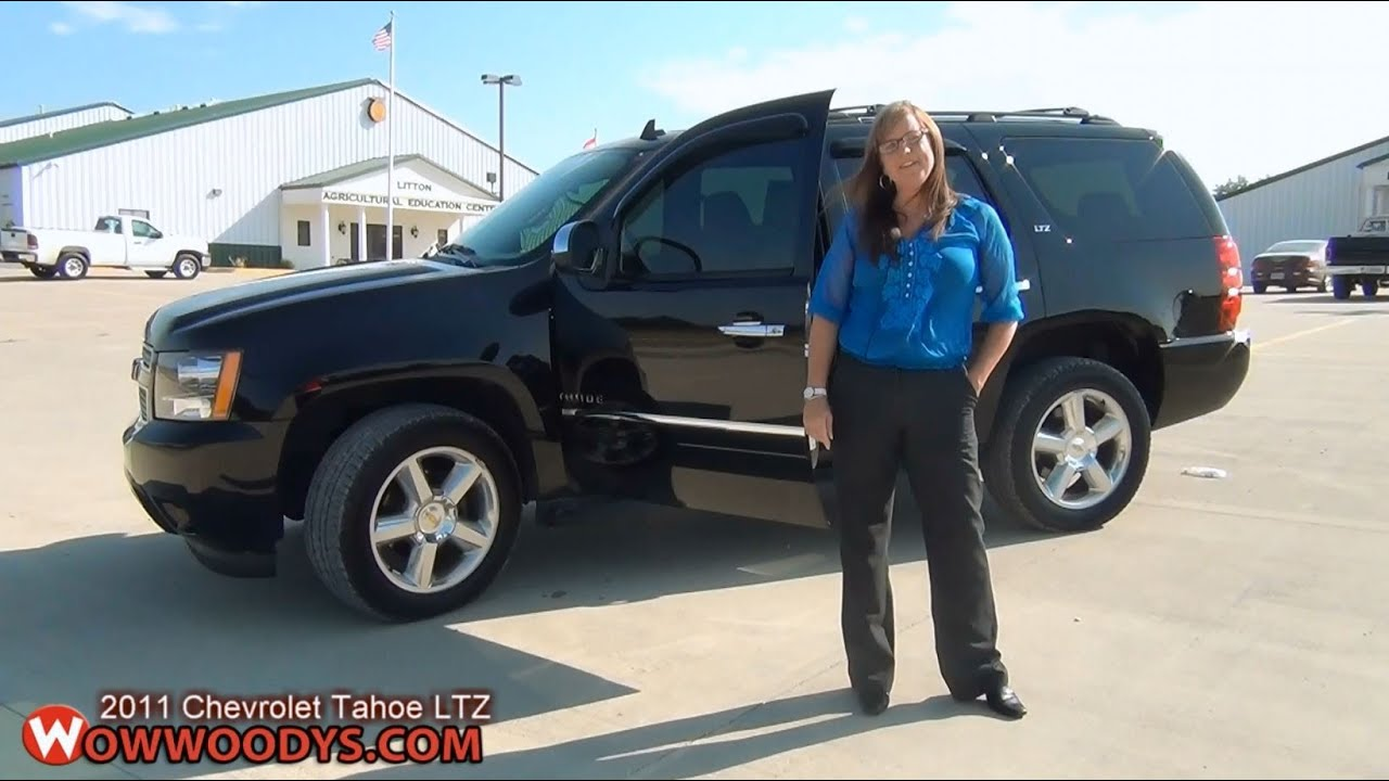 2011 Chevy Tahoe For Sale >> 2011 Chevrolet Tahoe Review| Video Walkaround| Used trucks and cars for sale at WowWoodys - YouTube